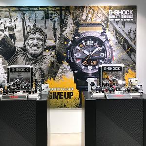 Stand Jaarbeurs G-Shock
